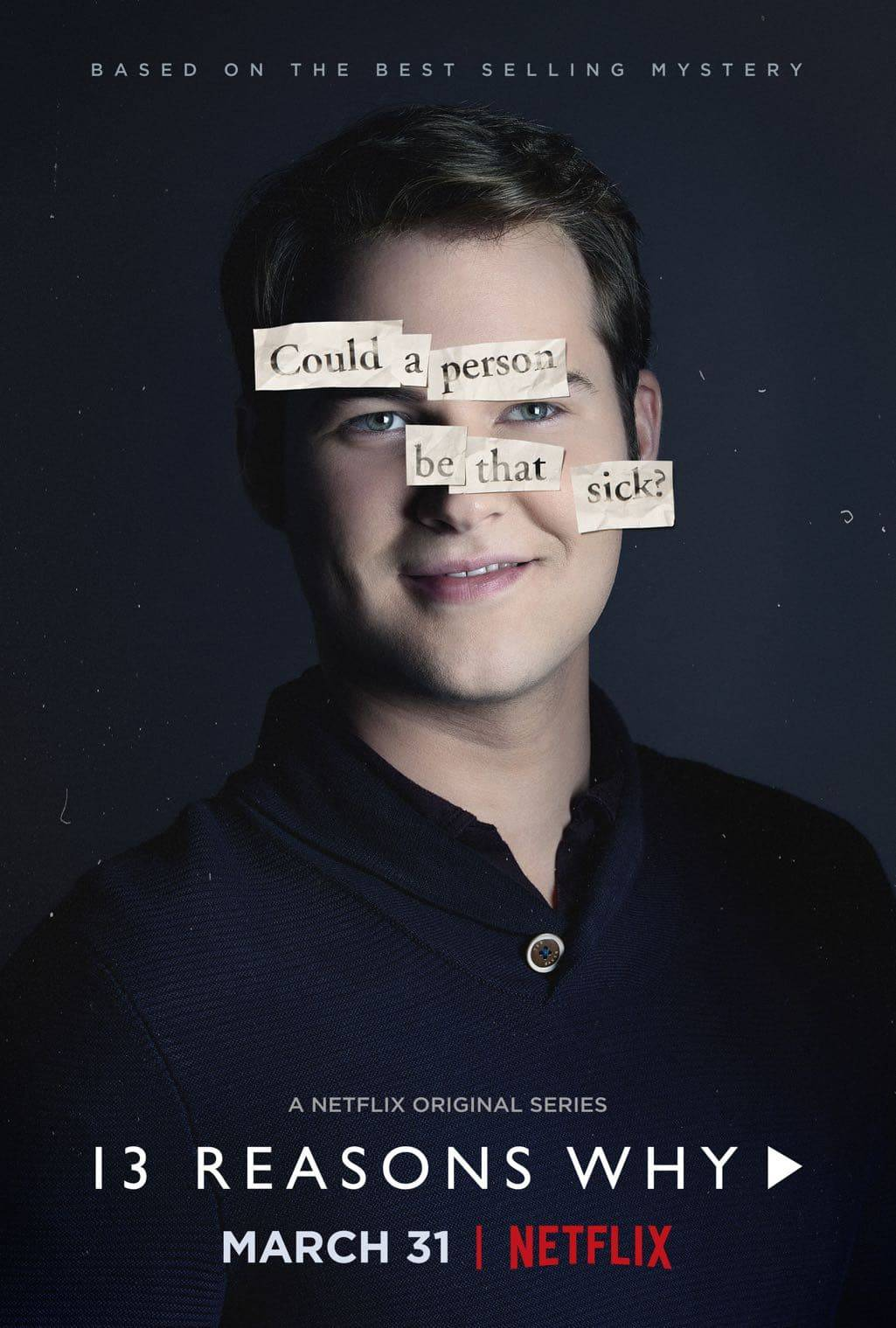 13 reasons why poster Bryce