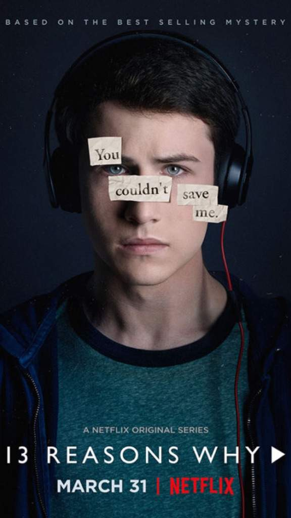 13 reasons why poster Clay