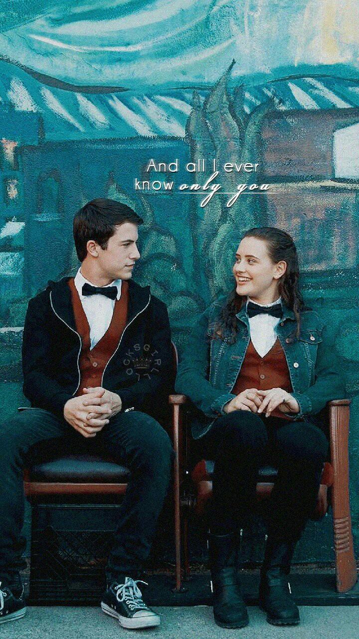 13 reasons why poster Hannah and Clay
