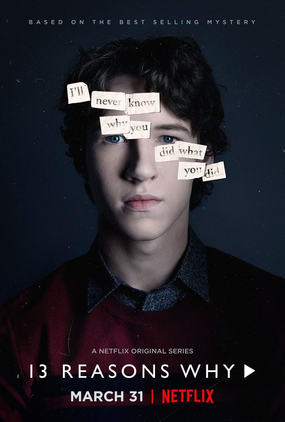 13 reasons why poster Tyler