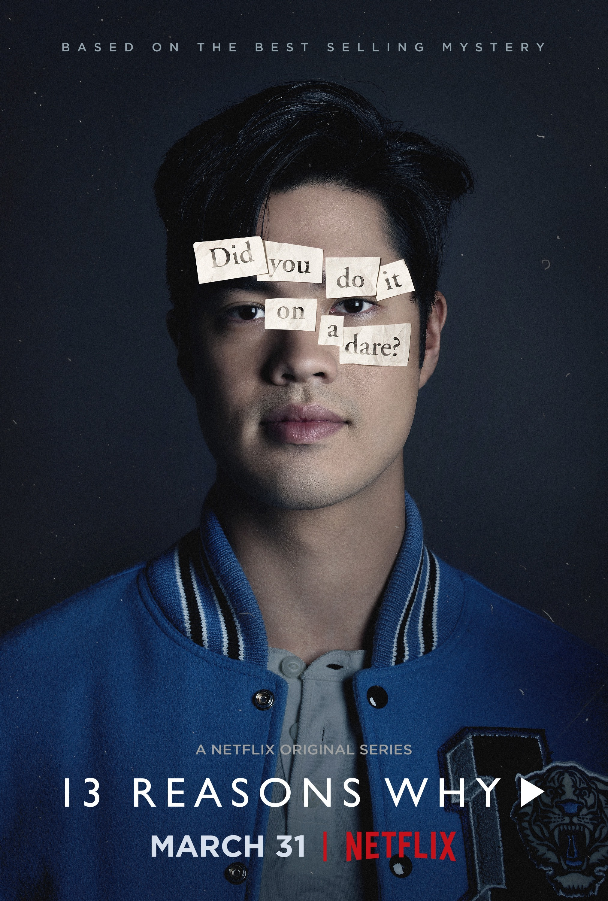 13 reasons why poster Zach