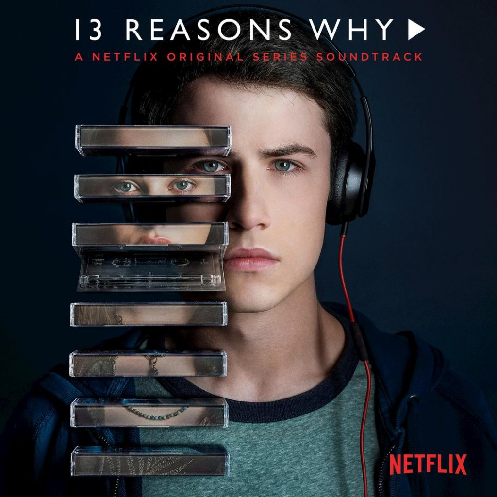 13 reasons why poster clay and tapes