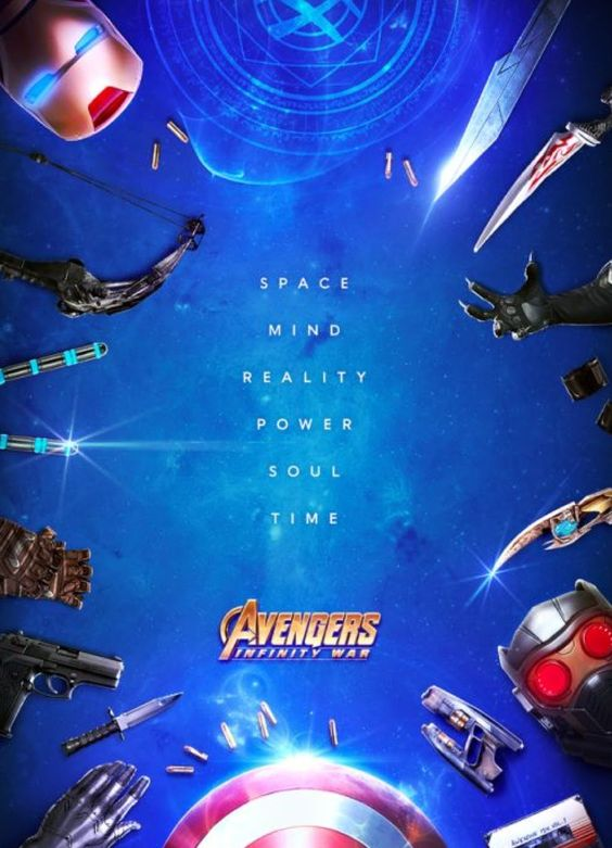 Weapons - Avengers Infinity War Poster Fan-Made Poster