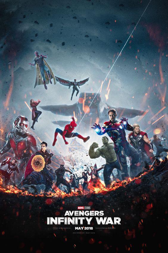 Ant-Man Avengers - Infinity War Poster