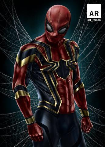 Iron Spider-Man - Avengers Infinity War Poster