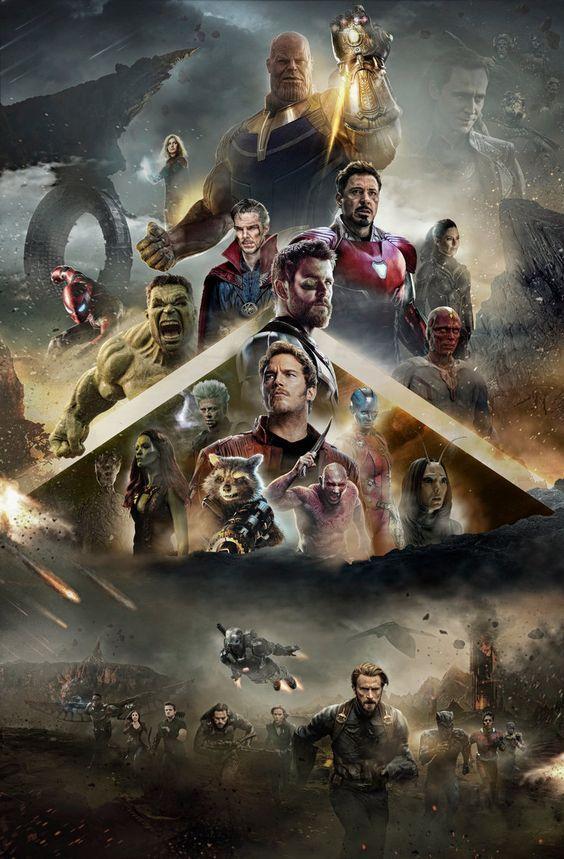 Extended Avengers Infinity War Poster