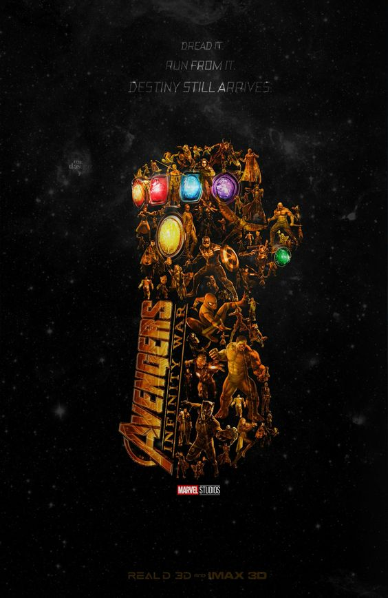 Avengers Infinity War Poster - Incredible Poster