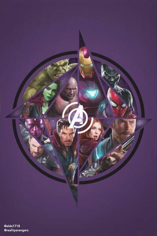 Avengers Infinity War Poster Fan-Made Poster Heroes