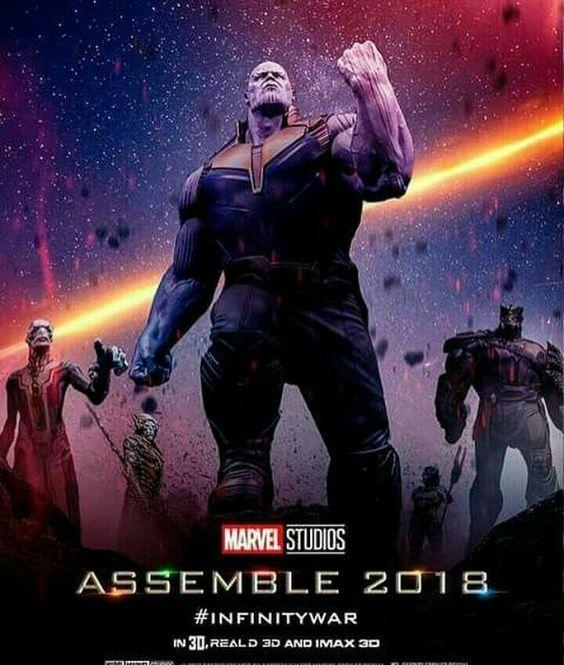 Avengers Infinity War Poster Fan-Made Poster - All Villains
