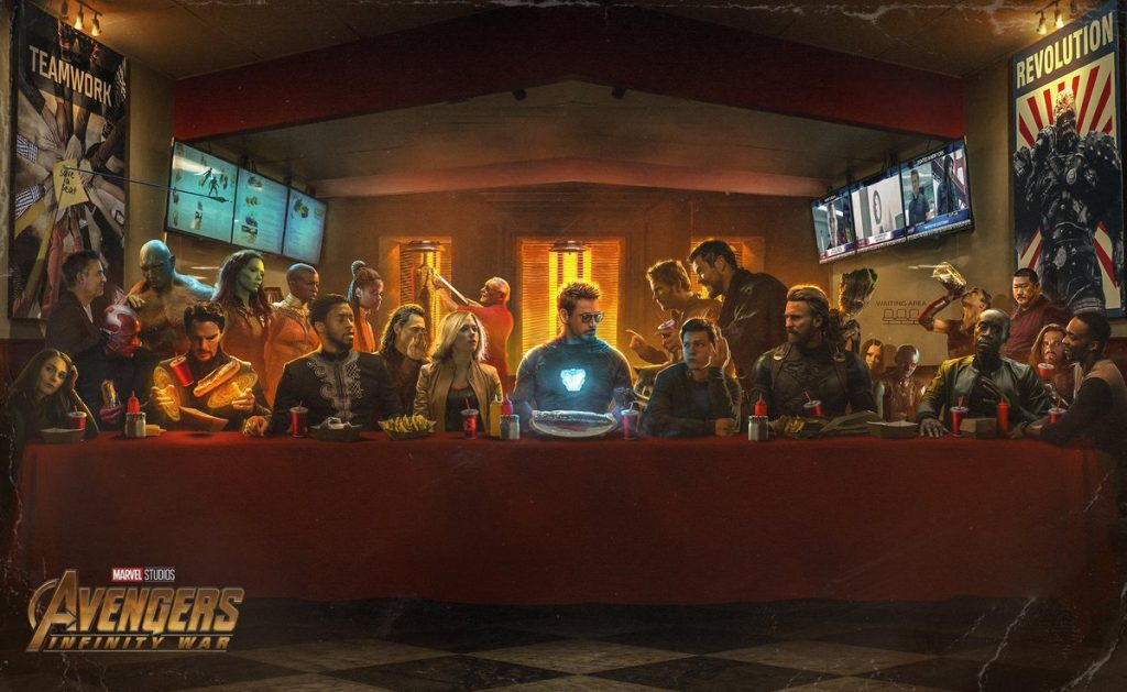 The Last Shwarma - Avengers Infinity War Poster