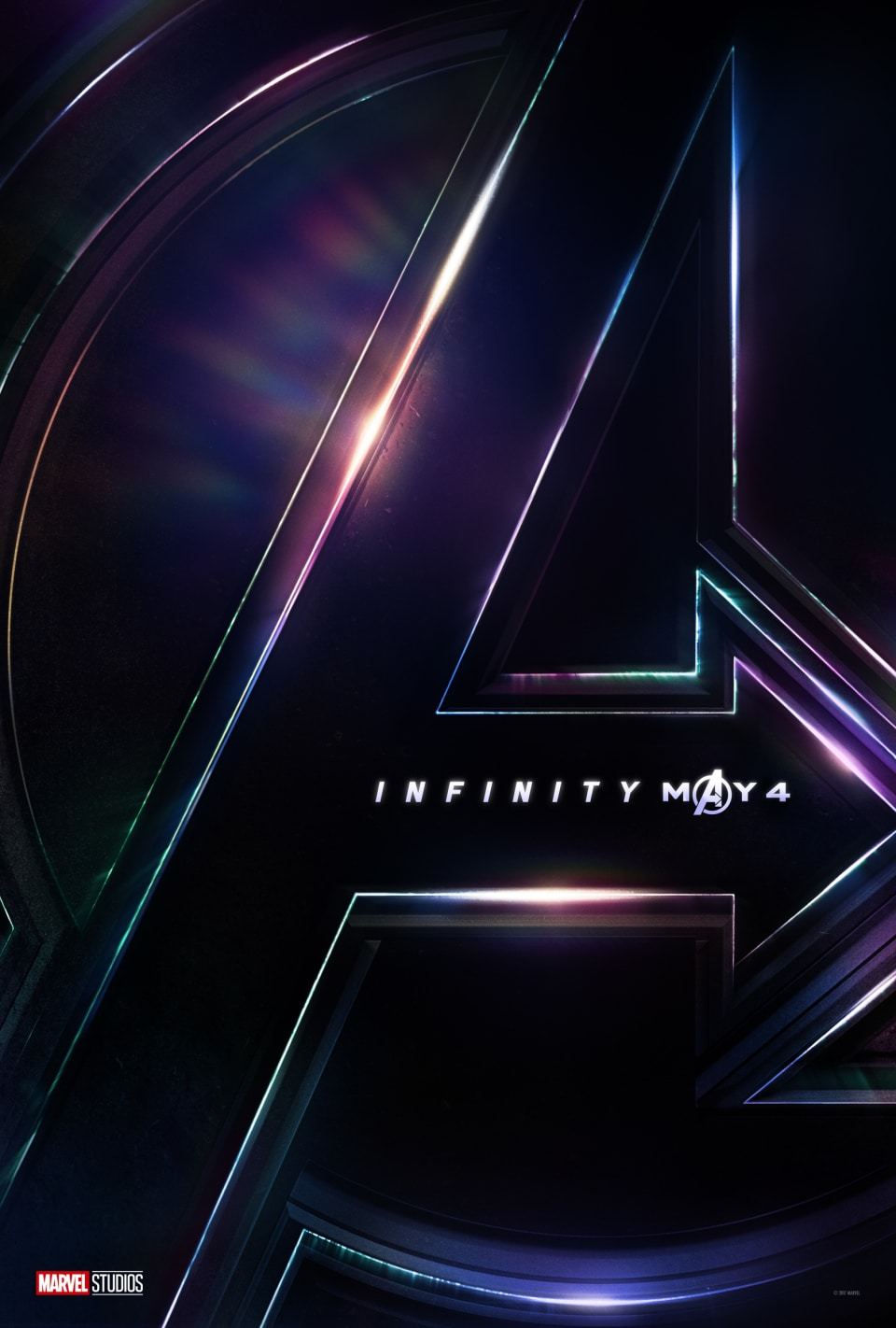 First Avengers Infinity War Poster Official