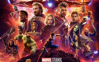 Avengers Infinity War Poster Official