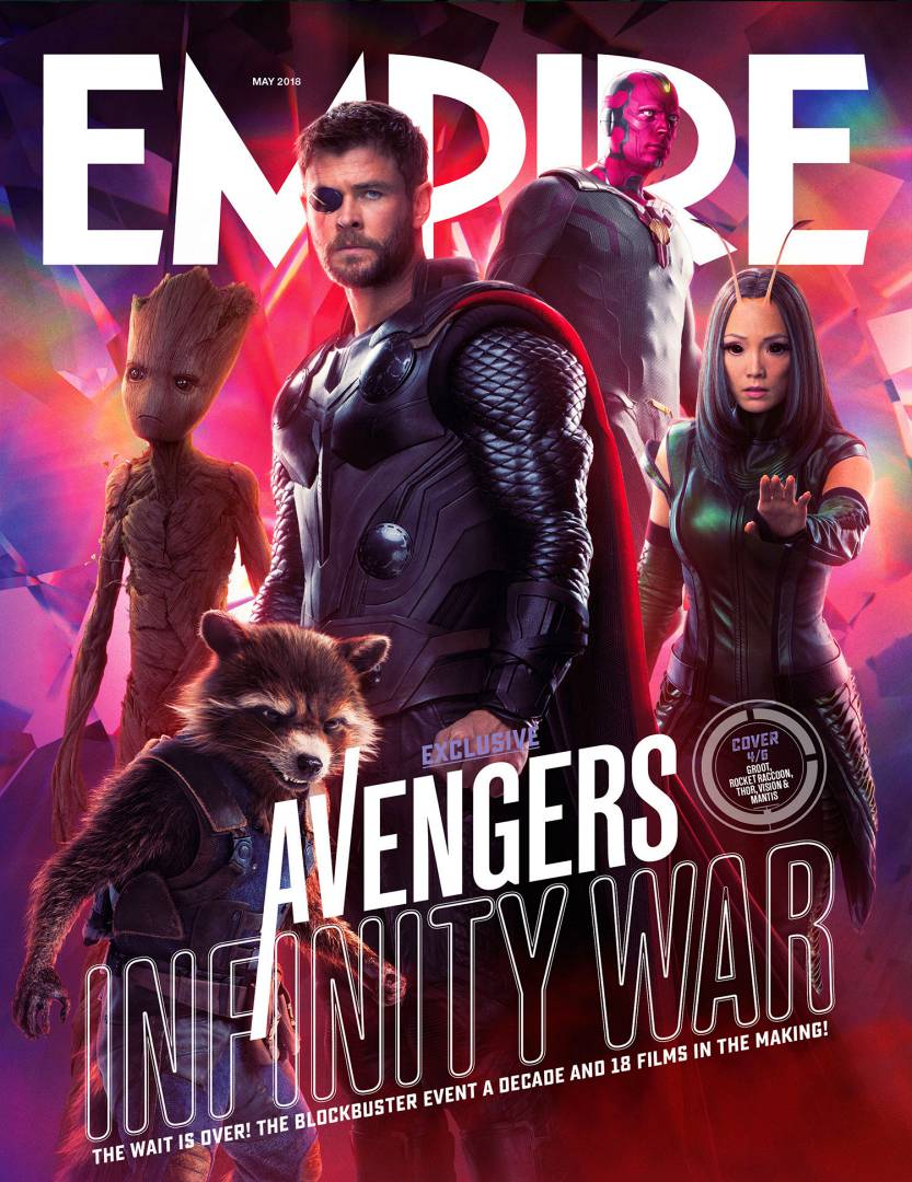 Avengers Infinity War Poster - Thor