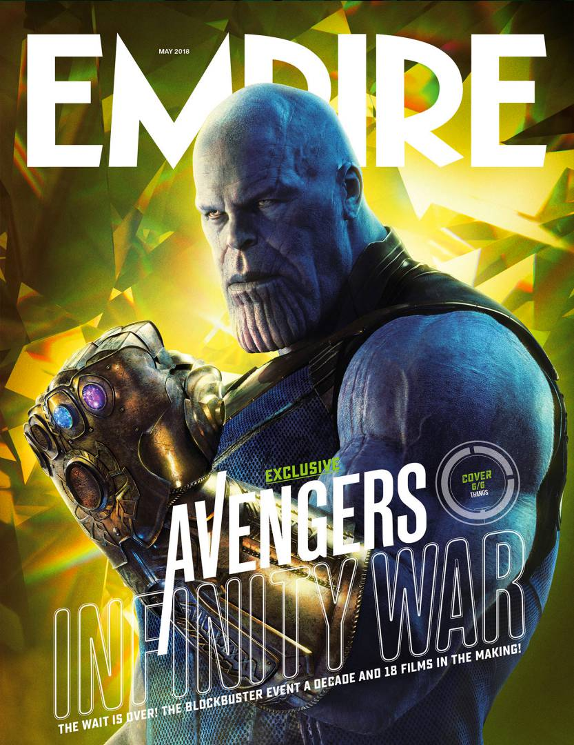 Avengers Infinity War Poster - Thanos