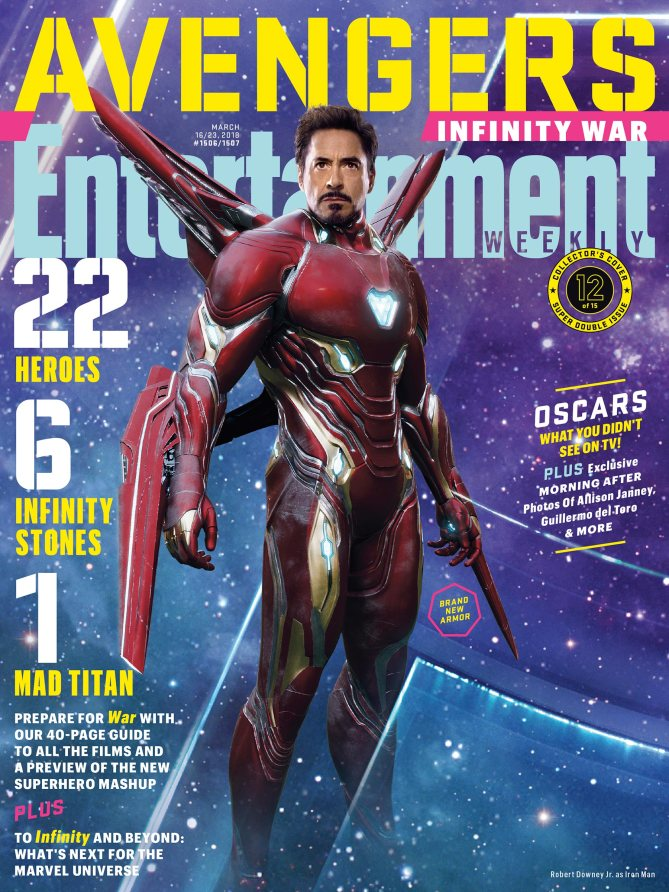 Avengers Infinity War Poster - Iron Man Bleeding Edge Armor