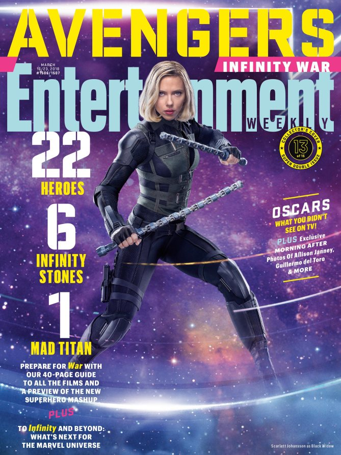 Avengers Infinity War Poster - Black Widow