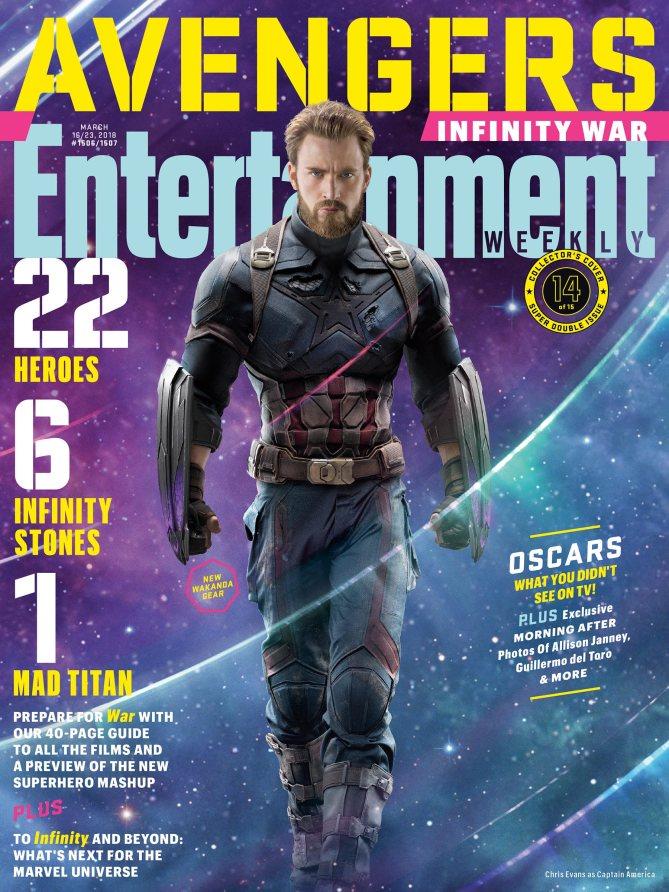 Avengers Infinity War Poster - Captain America