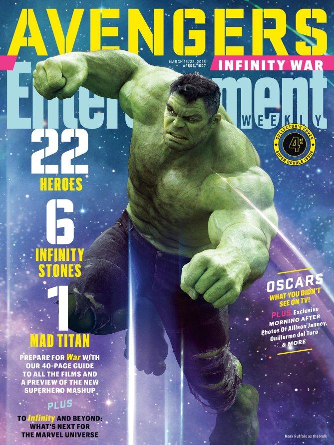 Hulk - Avengers Infinity War Poster