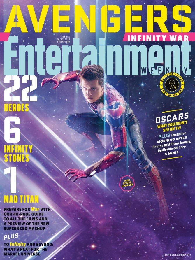 Spider-Man - Avengers Infinity War Poster