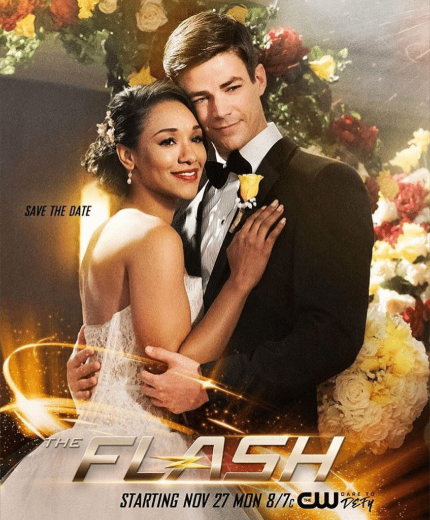 Barry Allen and Iris poster