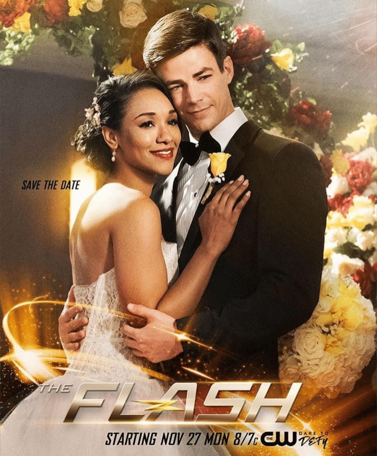 Barry Allen and Iris poster