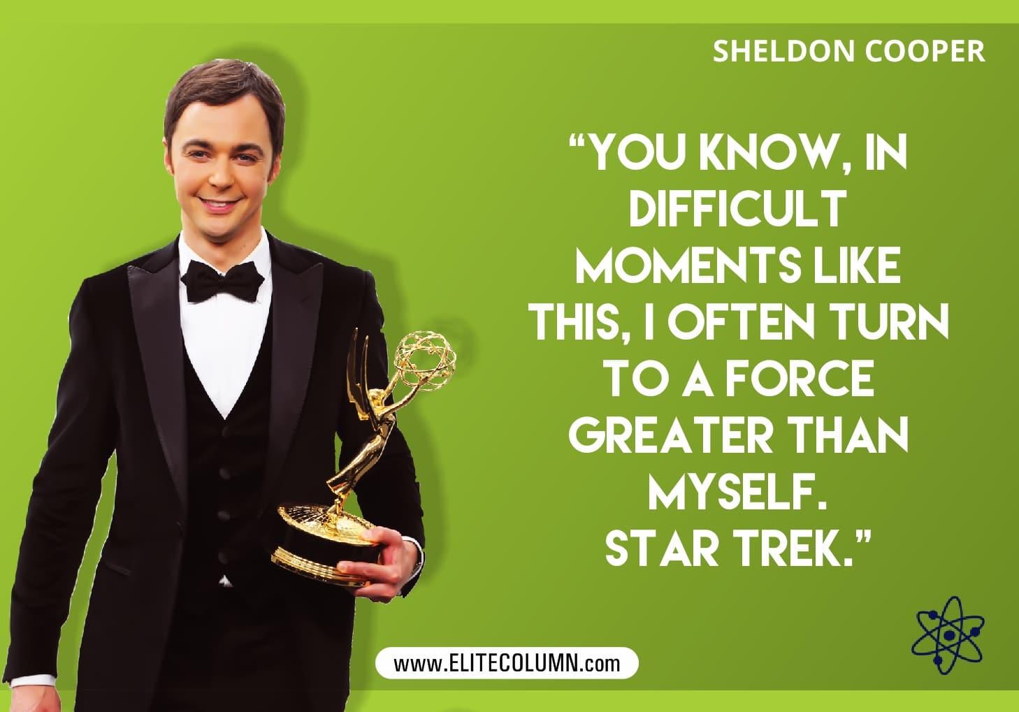 Big Bang Theory poster Sheldon Cooper