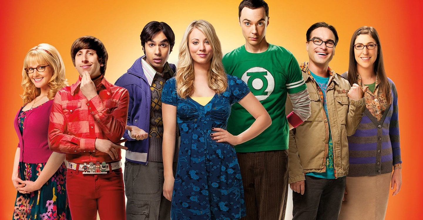 The Big Bang Theory poster Cast