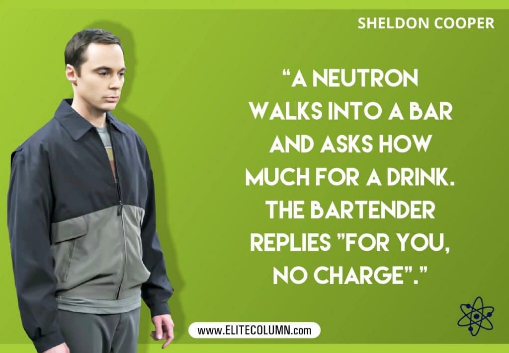 Big bang theory geeky jokes poster