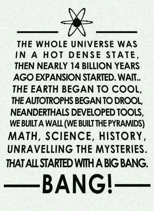 Big bang theory poster title track