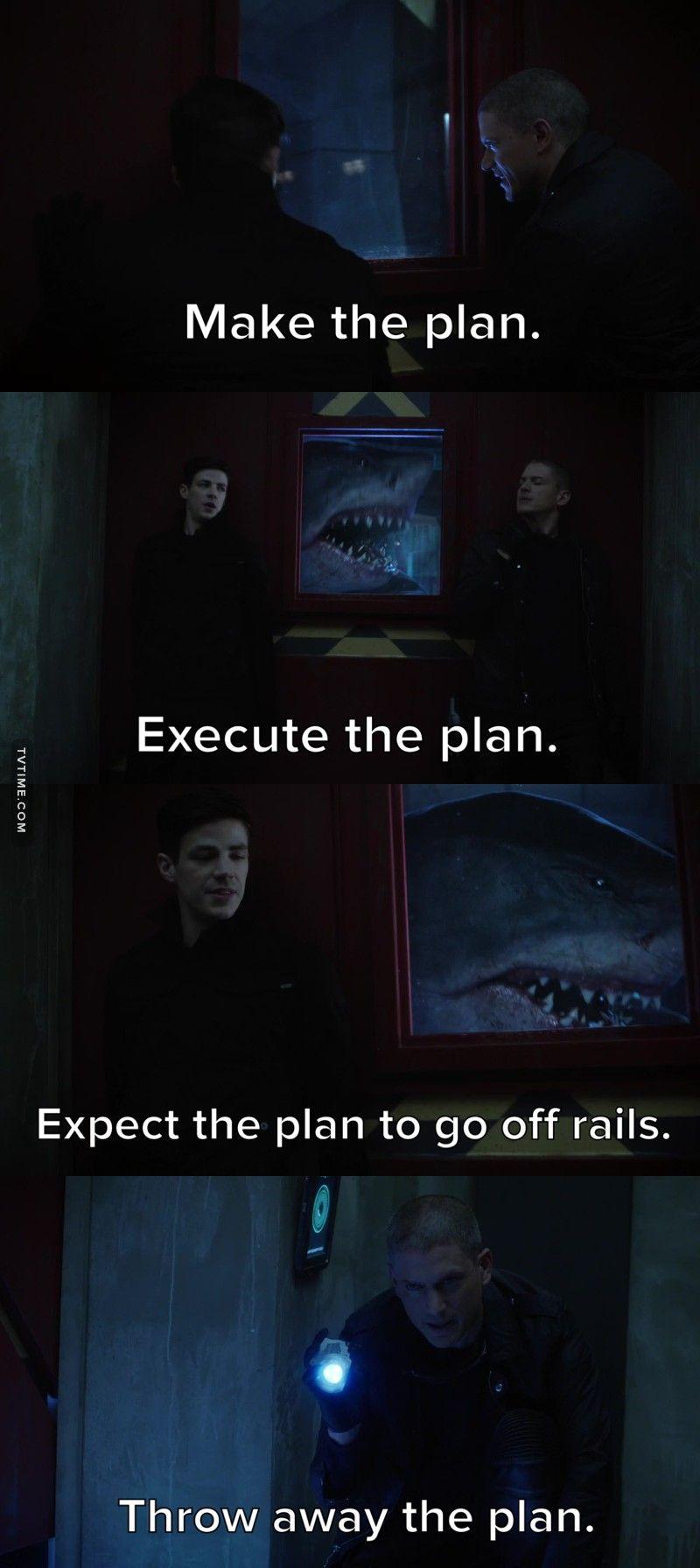 The Flash King Shark poster