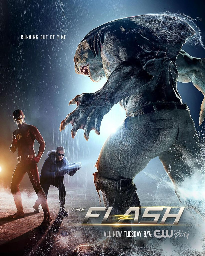 The Flash poster King Shark