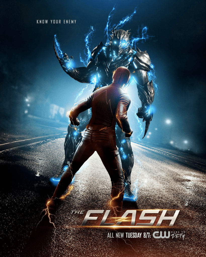 The Flash season 3 official poster
