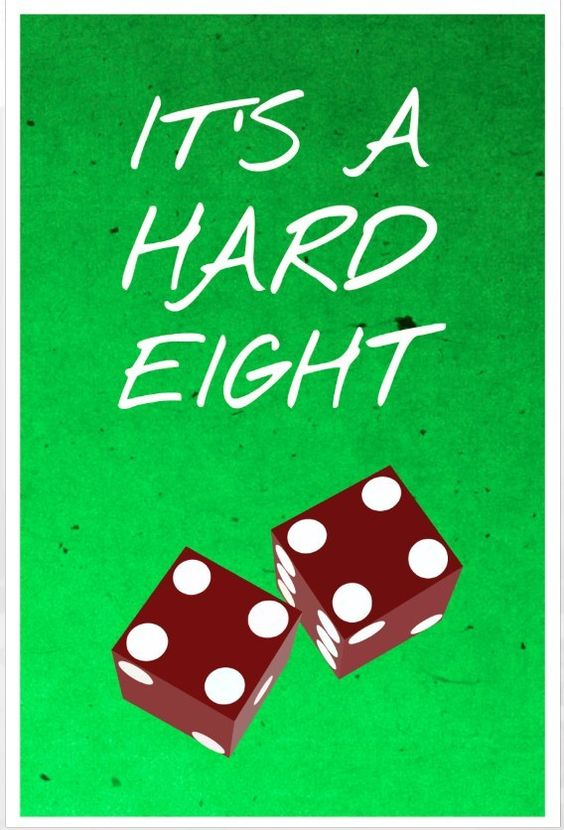 Friends Hard eight poster