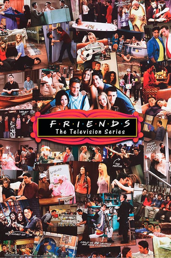 Friends poster Collage