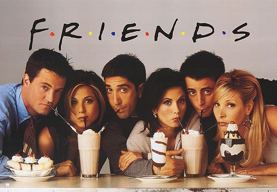 Friends poster complete cast