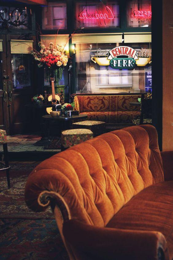 Friends poster The Orange Sofa