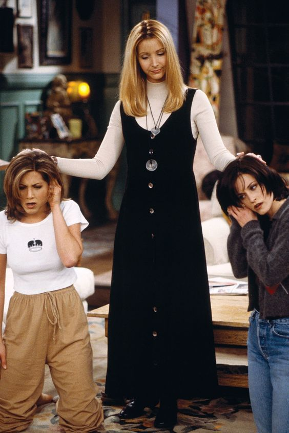 Friends poster Monica Rachel and Phoebe