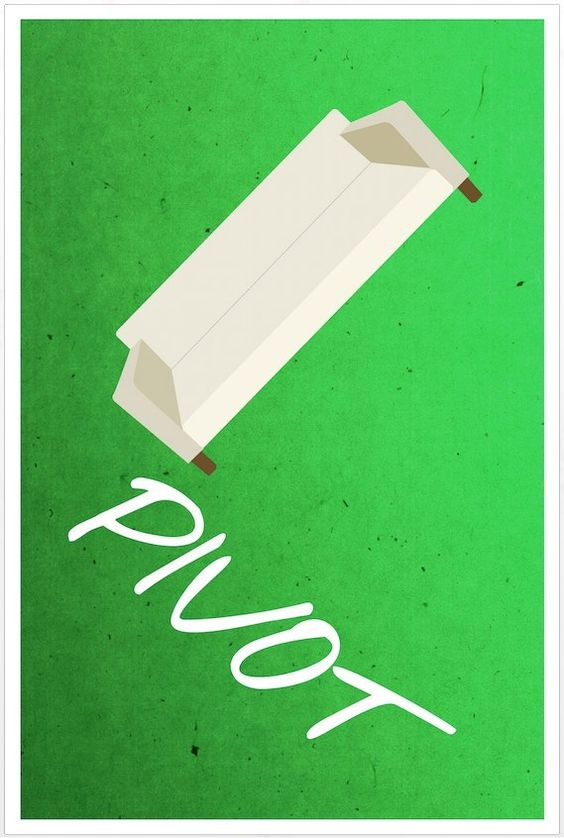 Friends poster Pivot