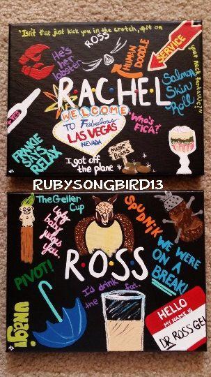Friends poster Rachel Ross