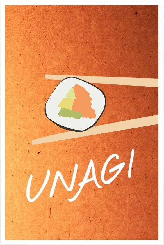 Friends poster Unagi
