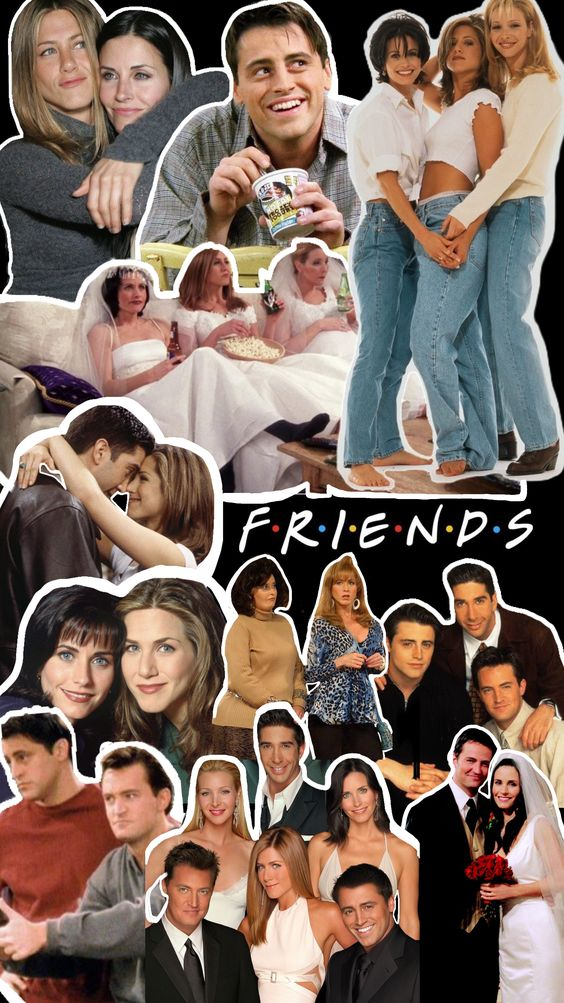 Friends poster all characters
