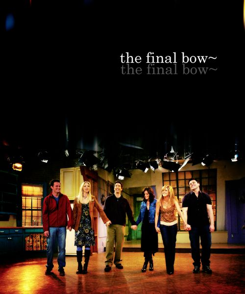 Friends poster Final bow