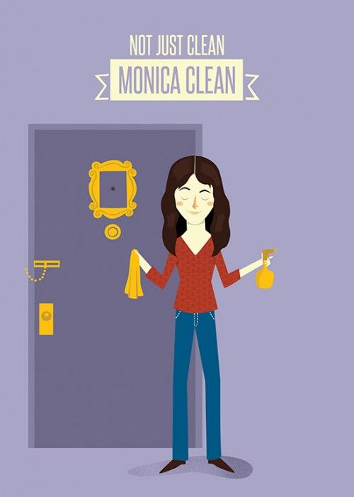 Friends Monica Poster (Character)