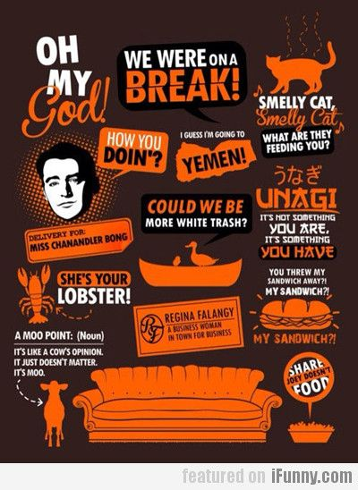 Friends poster Best quotes