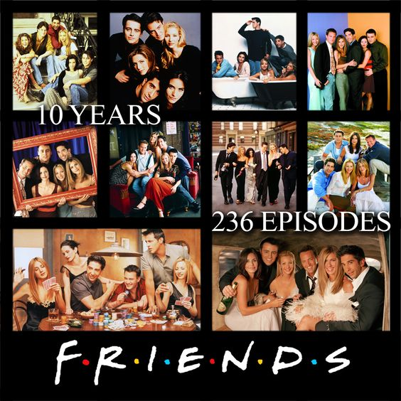 Friends poster total episodes