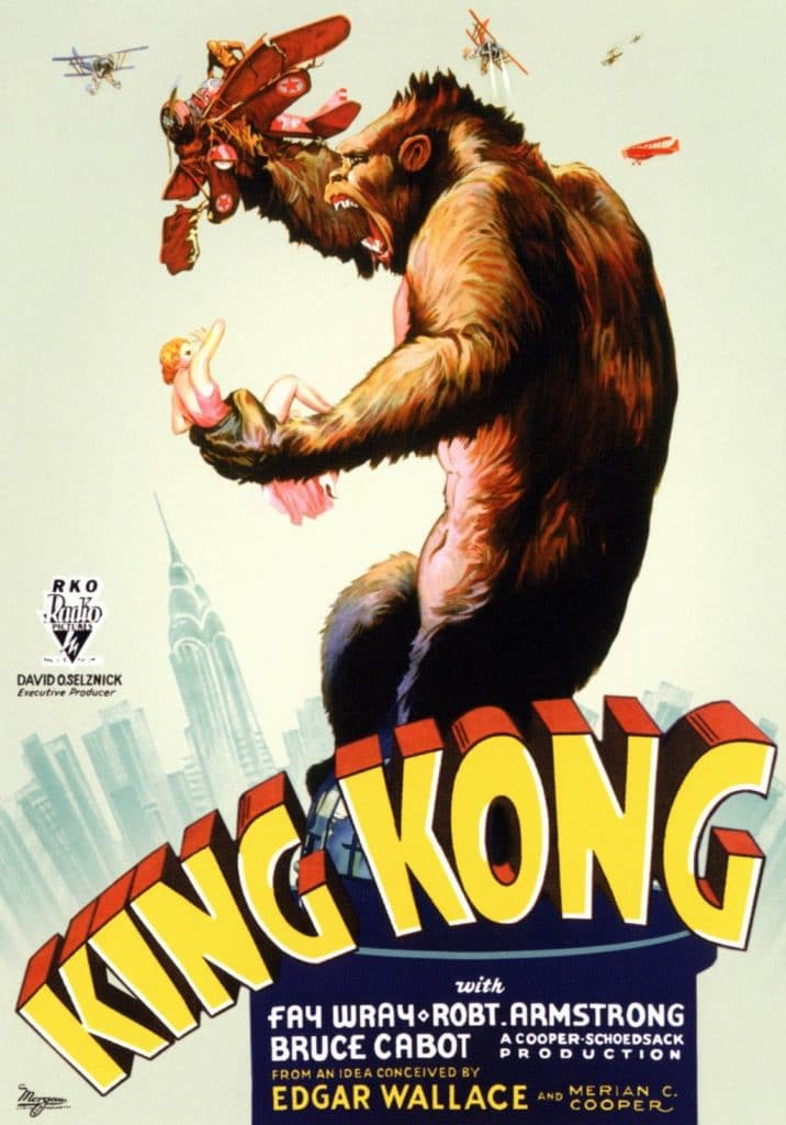 King Kong 1933 official poster