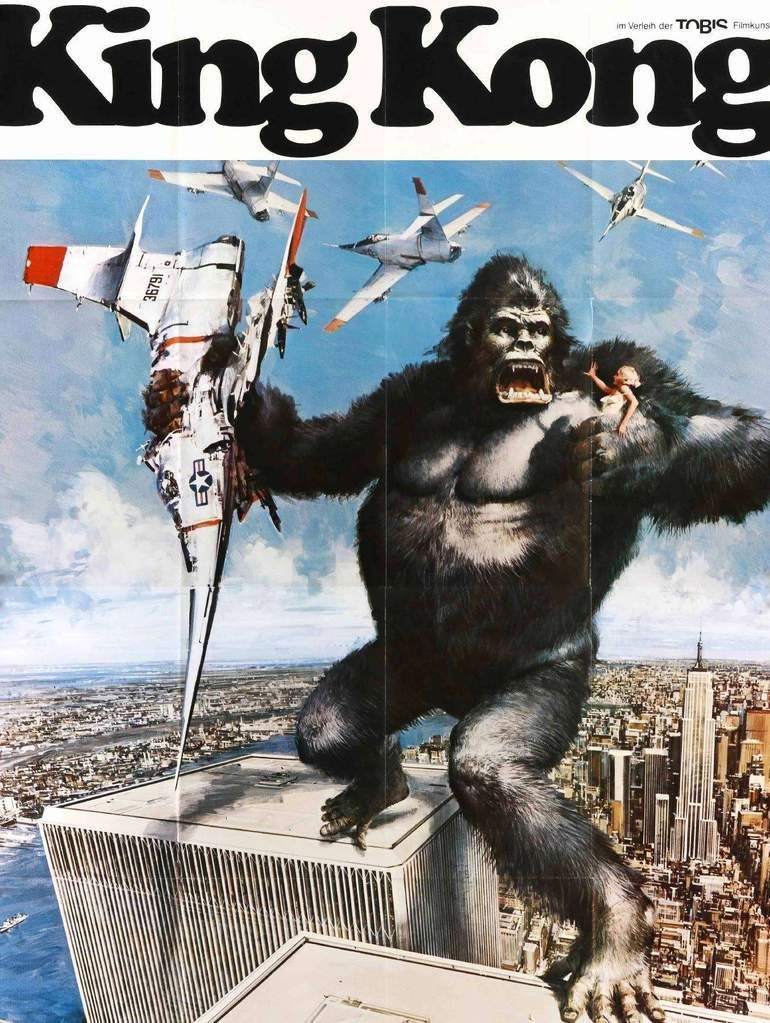 King Kong 1976 official poster