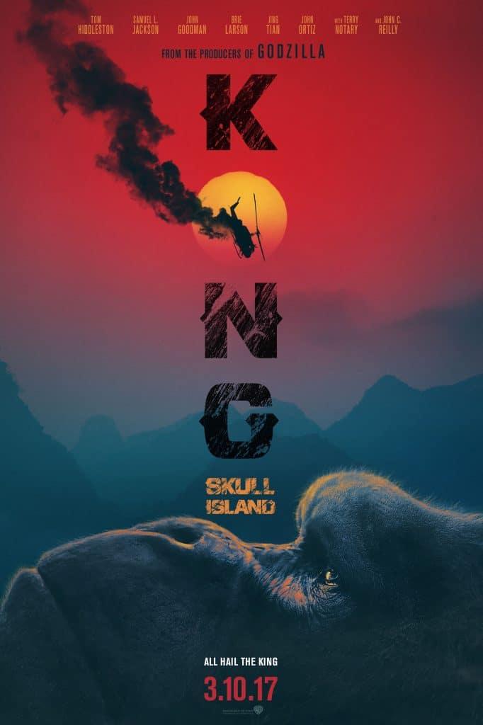 Kong Skull Island new King Kong poster