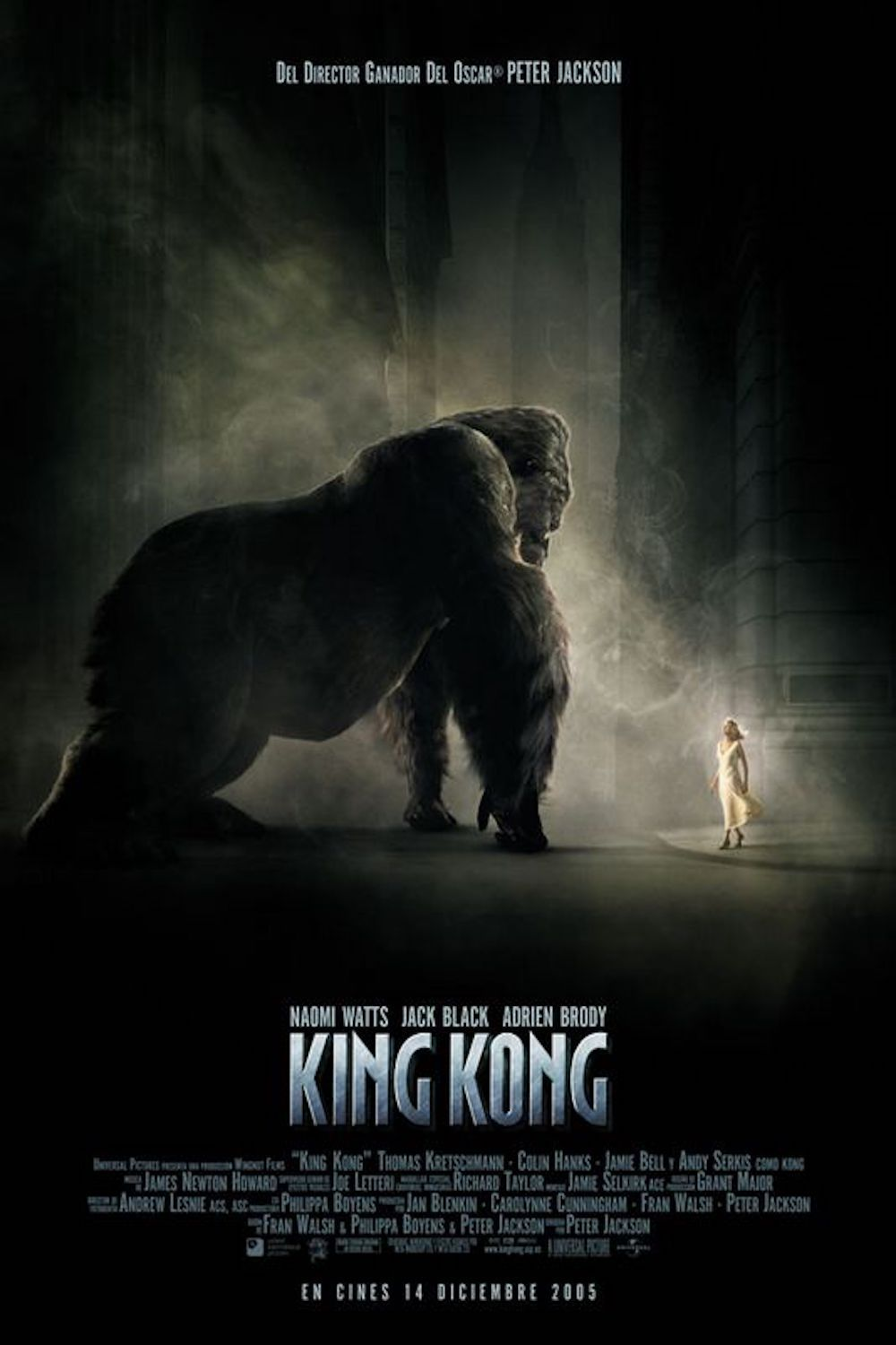 King Kong and Ann movie poster