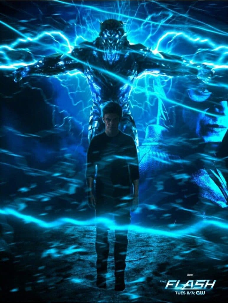 The Flash and Savitar season 3 poster